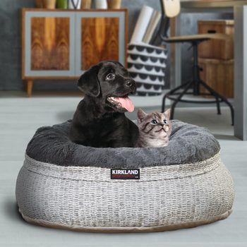 "Kirkland Signature 24"" (60.9 cm) Nest Pet Bed in 2 Designs"