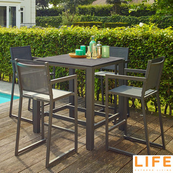 LIFE Outdoor Living Juwel 5 Piece Bar Set