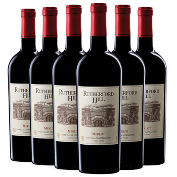Rutherford Hill Napa Valley Merlot 2015, 6 x 75cl