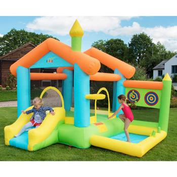 "BeBop 8ft 2"" Bounce House Multi Activity Bouncy Castle (3-8 Years)"