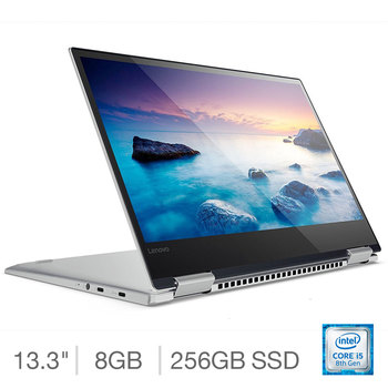 Lenovo Yoga 720-13IKBR, Intel Core i5, 8GB RAM, 256GB SSD, 13.3 inch Convertible Notebook