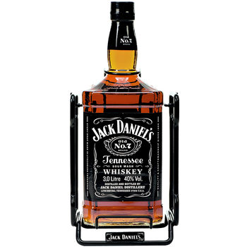 Jack Daniel's 3L Old No.7 Tennessee Whiskey JEROBOAM & Cradle