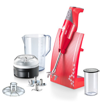 Bamix SwissLine ColourLine Hand Blender in Red