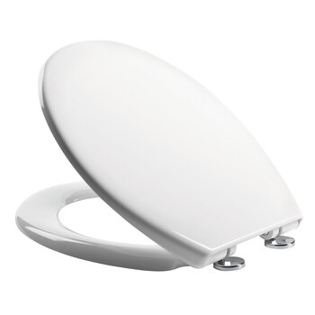 Tavistock Alaska Soft Close Thermoset Toilet Seat with Concealed Hinge Mechanism