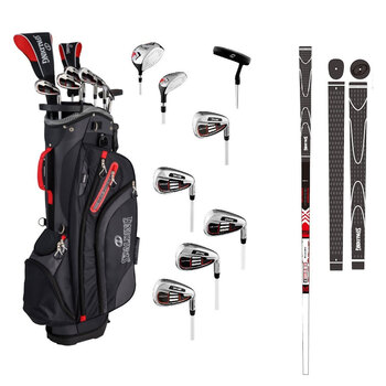 Spalding Executive 8-Piece Men's Graphite Golf Club Set, Right Handed
