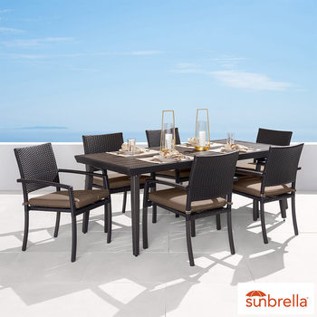 Portofino Casual 7 Piece Dining Set