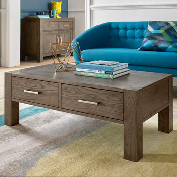 Bentley Designs Milan Dark Oak Coffee Table