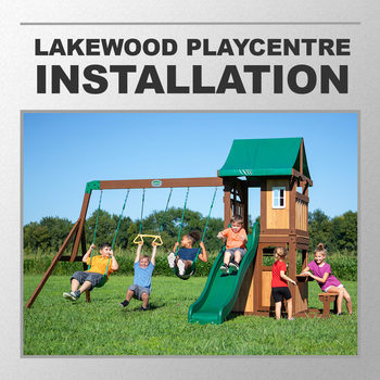 Installation Service for #309567 Backyard Discovery Lakewood Swing Set Playcentre