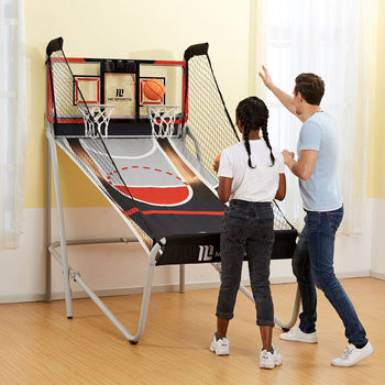 MD Sports 7ft Pro Court 2 Player Basketball Game (3+ Years)
