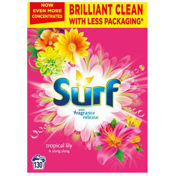 Surf Tropical Laundry Powder, 130 Wash