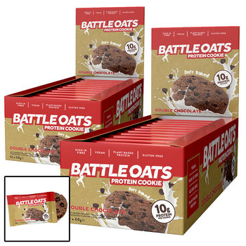 Battle Oats Protein Cookies, 24 x 60g in 4 Flavours