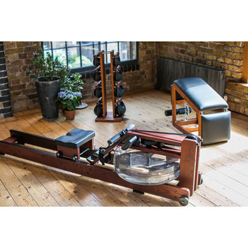 WaterRower Heritage S4 and Weights Bundle