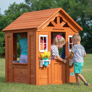 Backyard Discovery Timberlake Playhouse (2-10 Years)