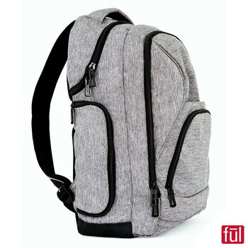 FUL Fuego Laptop Backpack in Grey