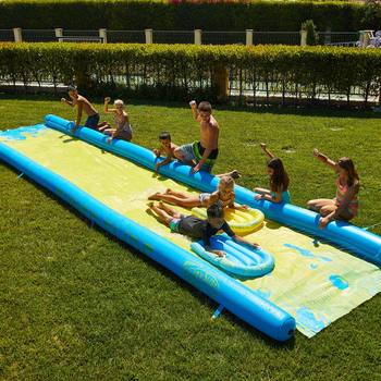 Supersized 790cm Slip 'N' Slide with Inflatable Boards
