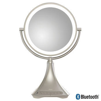 iHome  Double Sided  Vanity Mirror with Bluetooth Speakers