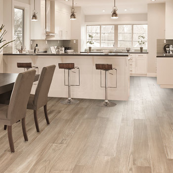 Golden Select Harbour (Grey) Waterproof Engineered  Hardwood Plank Flooring with Foam Underlay - 1.44 m² Per Pack