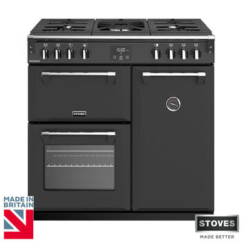 Stoves Richmond S900G, 90cm Gas Range Cooker A Rating in 3 Colours