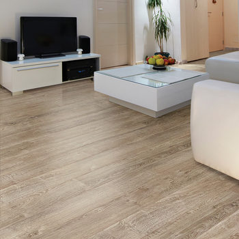 Golden Select Providence (Grey) Laminate Flooring with Foam Underlay - 1.16 m² Per Pack
