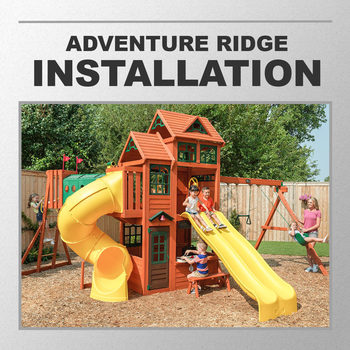 Installation Service for #1218590 Cedar Summit Adventure Ridge Playcentre