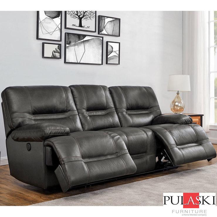Swell Pulaski Tessa 3 Seater Grey Leather Power Recliner Sofa Costco Uk Interior Design Ideas Tzicisoteloinfo