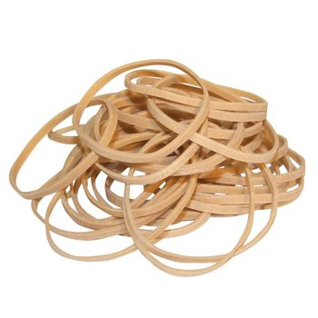Value No. 38 (3mm) Rubber Bands in Natural - 4 x 454g Pack