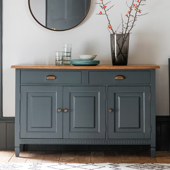 Bronte 3 Door Sideboard, Storm Blue