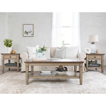Pike & Main Blaine 3 Piece Occasional Table Set