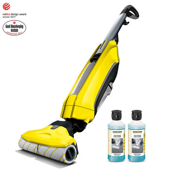 Karcher FC5 Hard Floor Cleaner with 2 x 500ml Detergent