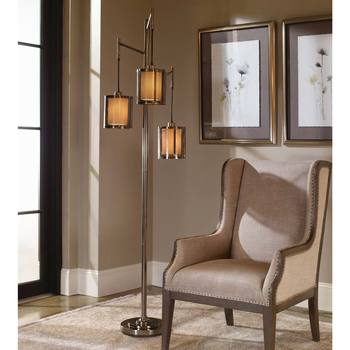 The Uttermost Co. Stalling 3 Arm Floor Lamp