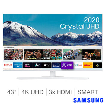 Samsung UE43TU8510UXXU 43 Inch 4K Ultra HD Smart TV