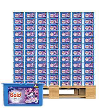 Bold 3 in 1 Lavender & Camomile Liquitabs, 3 x 35 Pack - Pallet Deal