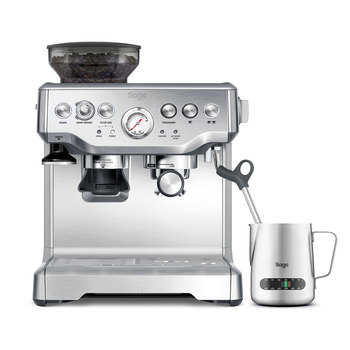 Sage Barista Express Bean to Cup Coffee Machine Including Milk Jug BES875UK