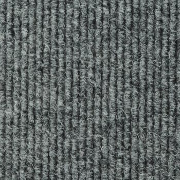 JVL Ribbed Carpet Tile, in Grey - 5m² Per Pack