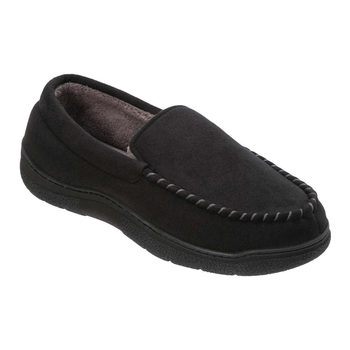 Dearfoam Mens Moccasin Slippers in 4 Sizes and 2 Colours