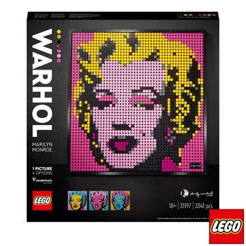 LEGO Art Andy Warhol's Marilyn Monroe - Model 31197 (18+ Years)