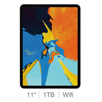 Apple iPad Pro 2018, 11 Inch, 1TB with Built-in WiFi