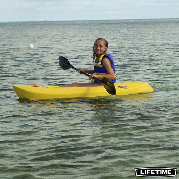 Lifetime Wave 6ft (1.8M) Sit On Youth Kayak + Paddle