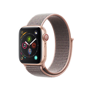 Apple Watch Series 4, MTVH2B/A, GPS & Cellular, 40mm Gold Aluminium + Pink Sand Sport Loop