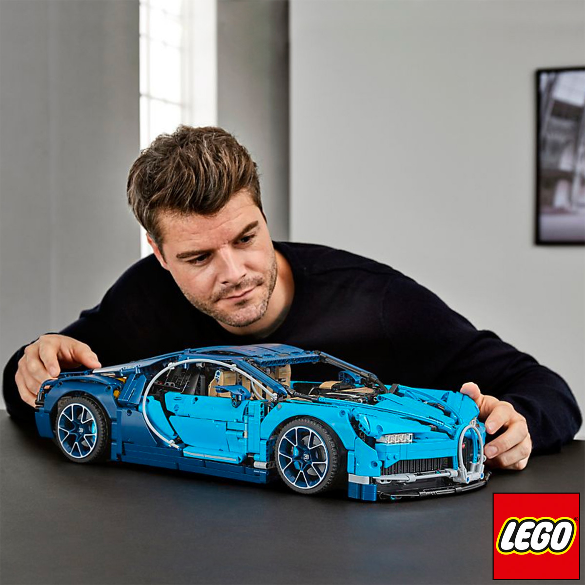 Lego Technic Bugatti Chiron Model 42083 16 Years Costco Uk