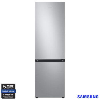 Samsung RB36T602ESA/EU, Fridge Freezer E Rated in Silver