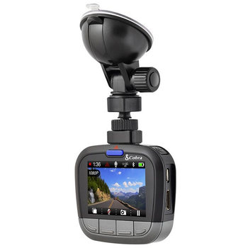 "Cobra Drive HD CDR 855 BT Dash Cam with 2"" LCD Screen and Bluetooth Enabled GPS"