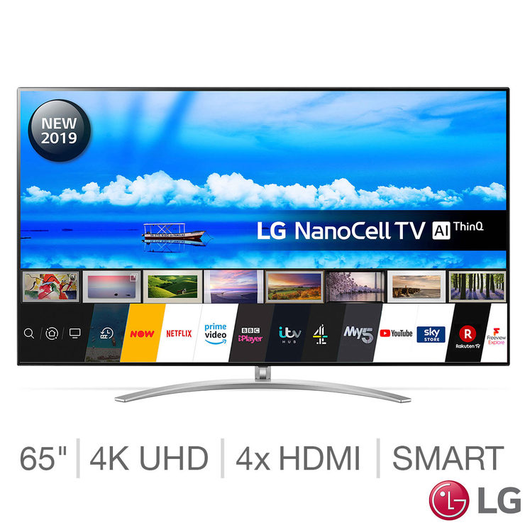 LG 65SM9800PLA 65 Inch NanoCell 4K Ultra HD Smart TV | Costco UK