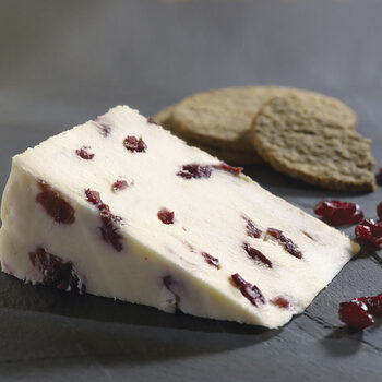 Ford Farm Wensleydale with Cranberries, 2 x 1.2kg (Serves 48 people)