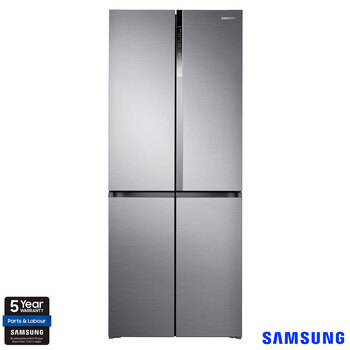 Samsung RF50K5960S8/EU Multidoor Fridge Freezer F Rated in Silver