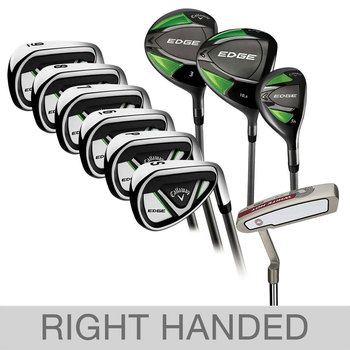 Callaway Edge 10-piece Women's Graphite Golf Club Set, Right Handed