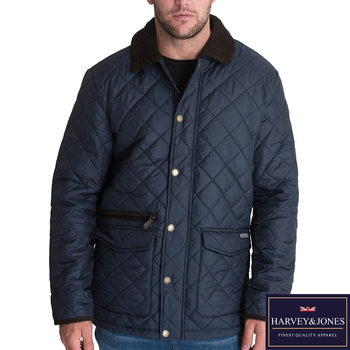 Harvey & Jones Harwood Men's Jacket in 3 Colours and 6 Sizes