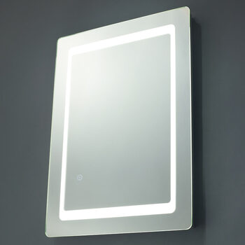 SPA Ref 18W LED Mirror with Demist Pad, 70 x 50 x 4.6 cm