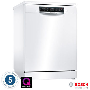 Bosch SMS67MW00G, 14 Place Settings Dishwasher A+++ Rating in White