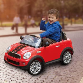 Rollplay Mini Cooper S Coupe 12V Children's Electric Ride On (3+ Years)